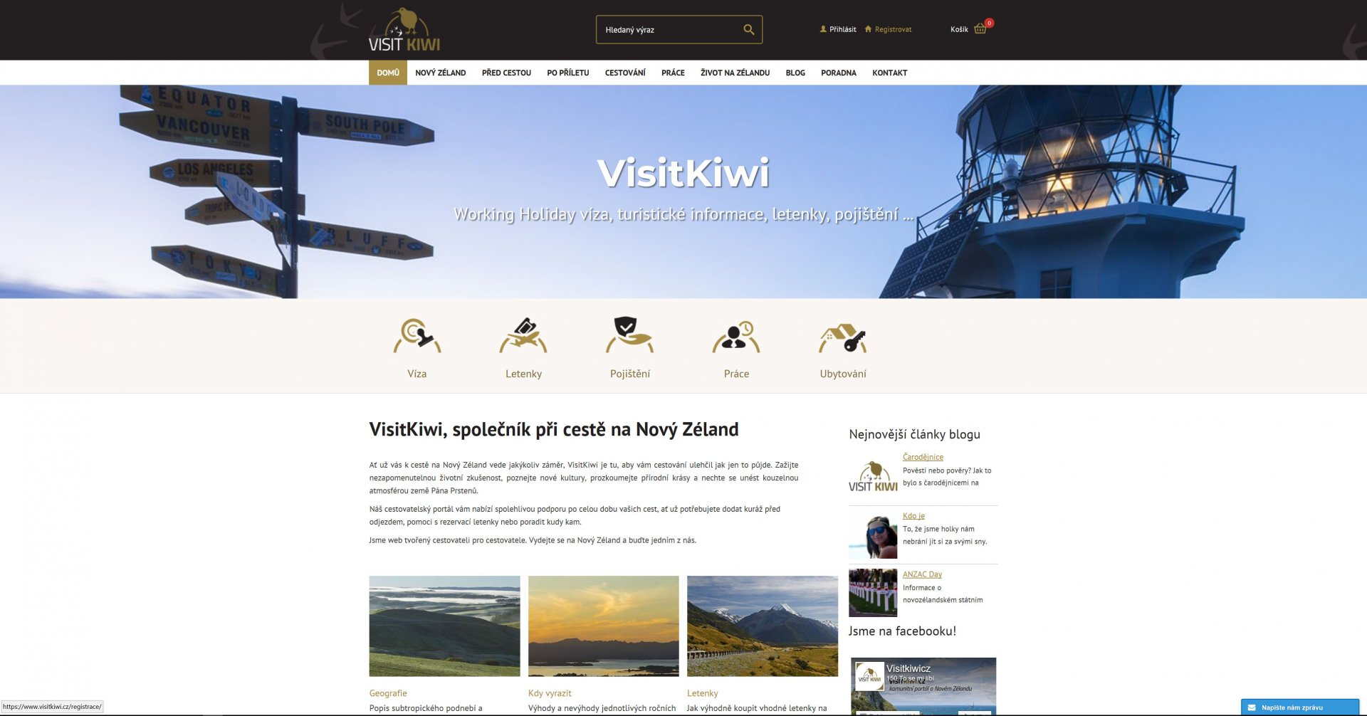 Make an account on our website at www.visitkiwi.com